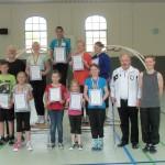 Starter zu den Kinder- und Jugendspielen 2014